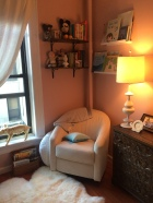 reading nook done.