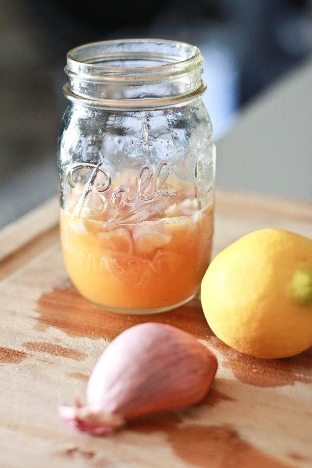 lemon vinegartette